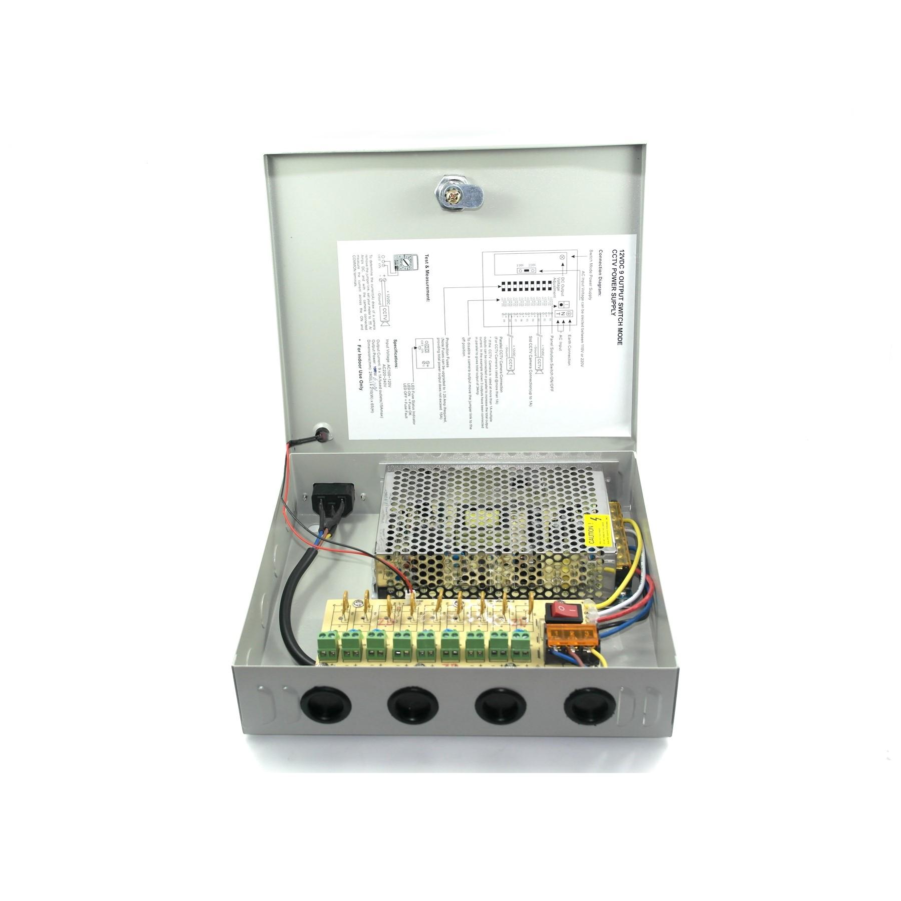 Cctv Power Supply 60w 12v Wiring Diagram