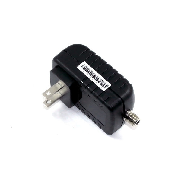 12V 1A AC/DC adapter, switching adapter with F con