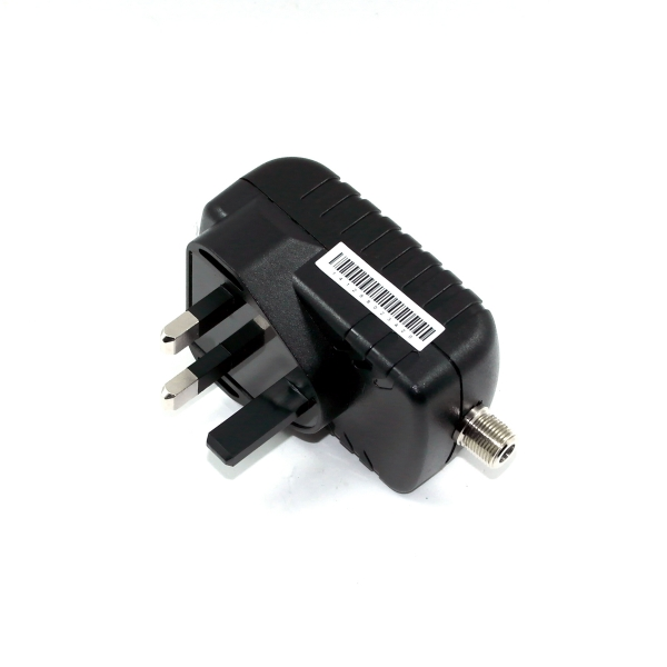 12V 1A swiching power supply with F connector