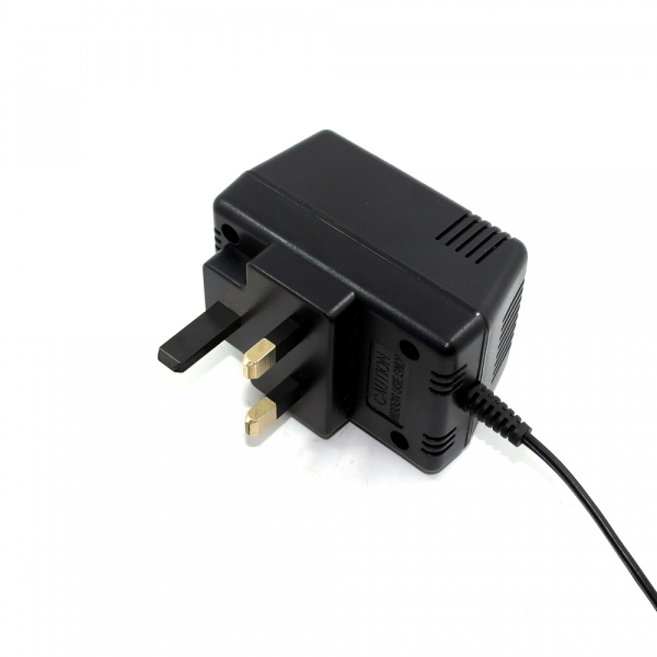 12VAC 0.45A 5.4W UK plug Linear power supply